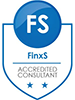 FinxS Accredited Consultant logo only 100px