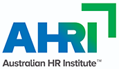 ahri australian hr institute logo 100px white